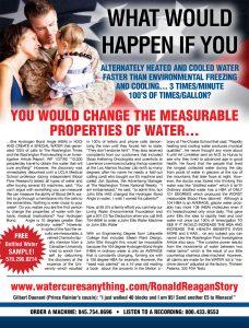 Change Measurable Properties of Water