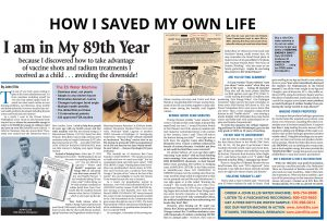 How I saved My Own Life