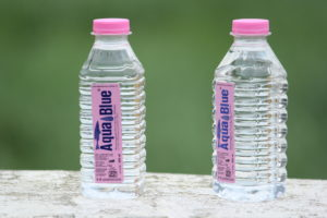 Plastics in bottled Water