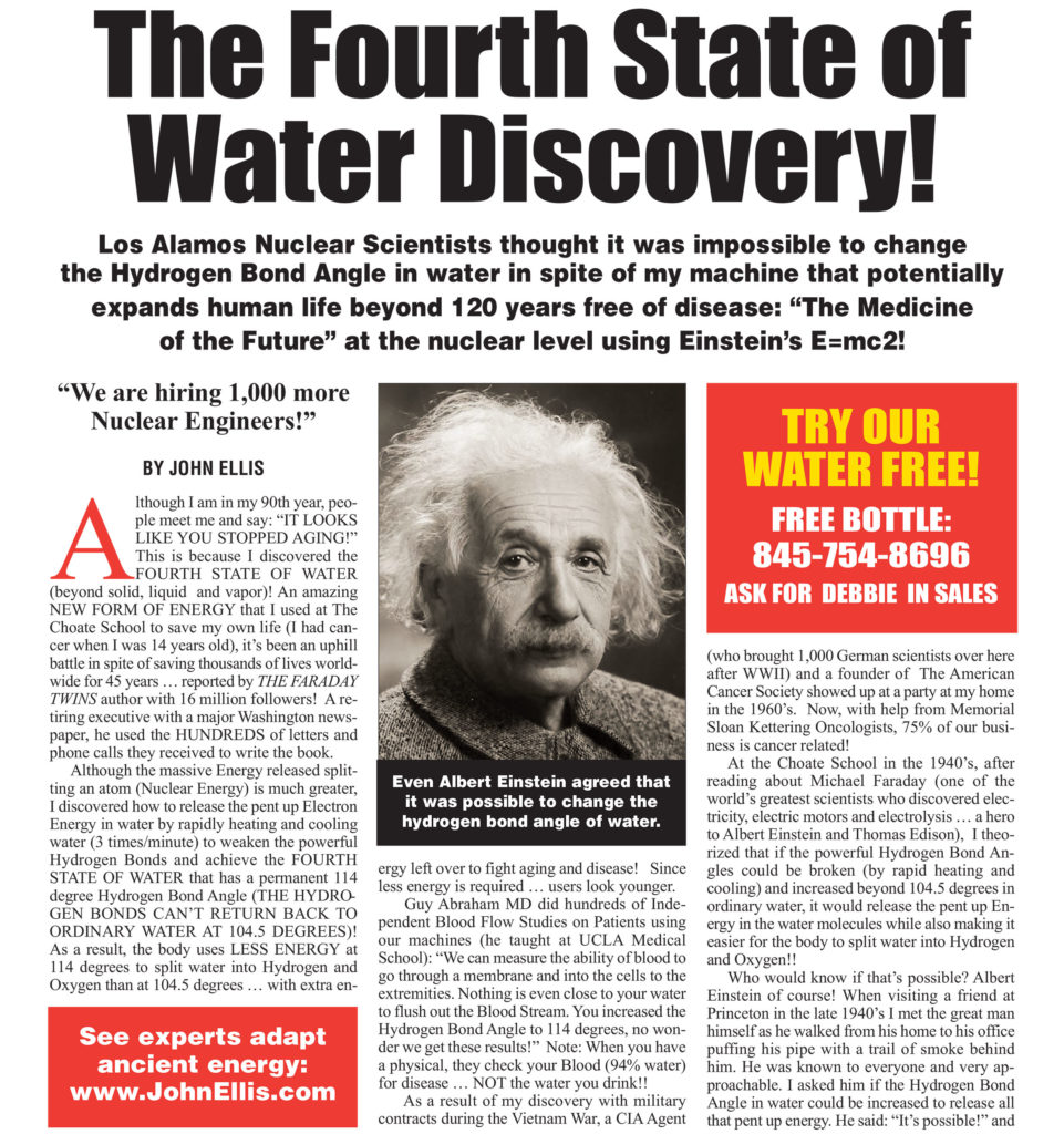 The Fourth State of Water Discovery!